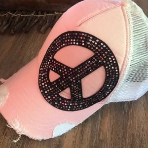 Accessories - Bling peace hat